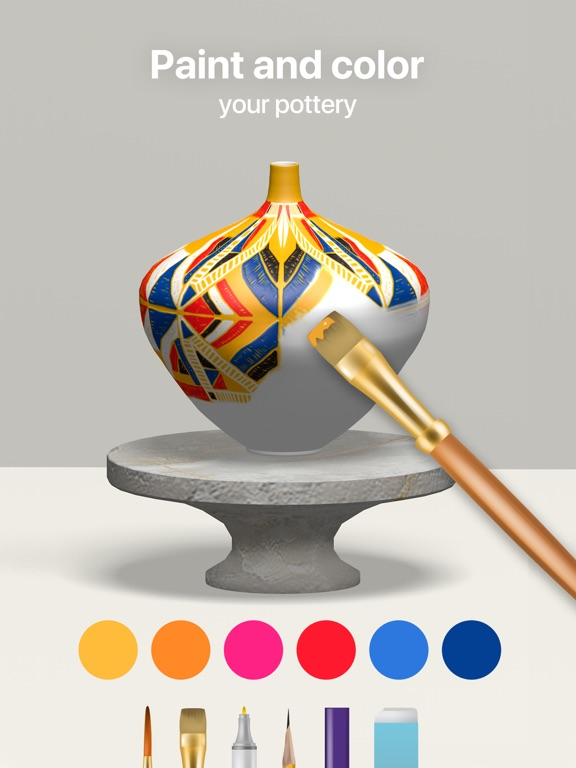 Pottery.ly 3D - 陶芸制作のおすすめ画像2