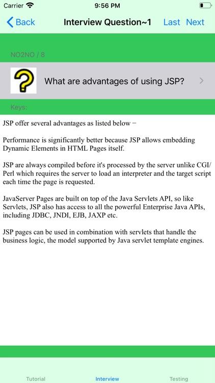 Tutorial of JSP screenshot-3