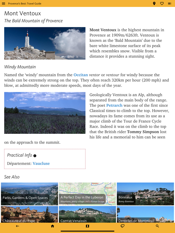 Provence's Best: Travel Guide Screenshots