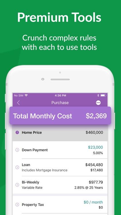 Canadian Mortgage App screenshot-4