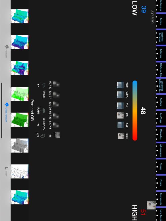 Instant NOAA Forecast Pro screenshot 11