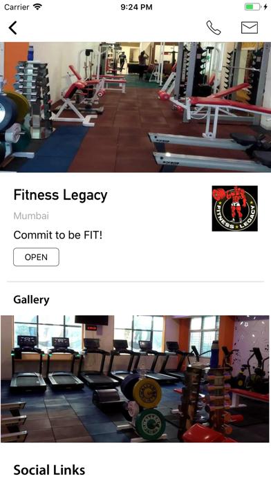 Fitness Legacy screenshot 1