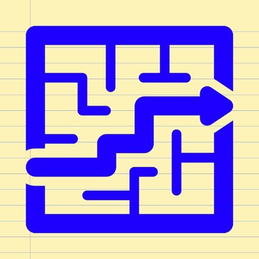 Mazes on my paper