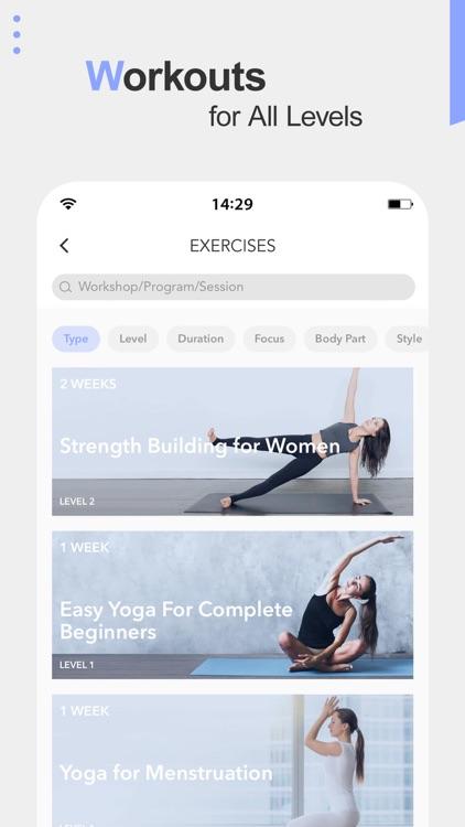 Daily Yoga - Workout & Fitness screenshot-3