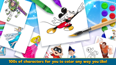 Disney Coloring World screenshot 2