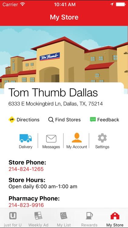 Tom Thumb Deals & Rewards screenshot-4