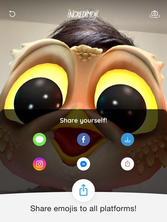 INCREDIMOJI Celebrity FaceSwap screenshot 10