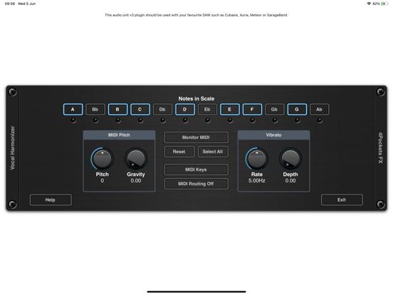 Vocal Soloist AUv3 Plugin screenshot 7