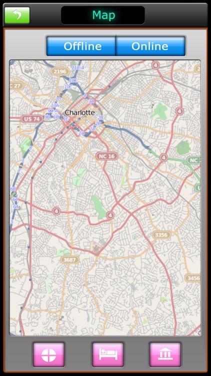 Charlotte Offline Map Guide screenshot-4