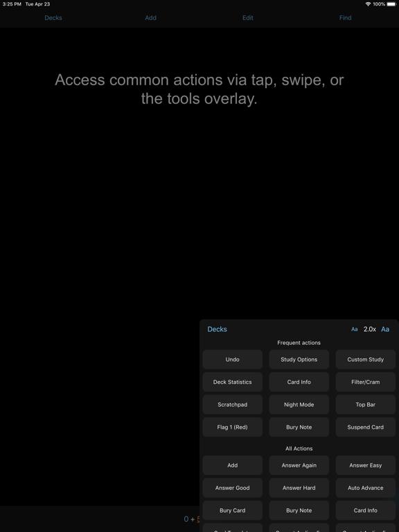 AnkiMobile Flashcards Screenshots