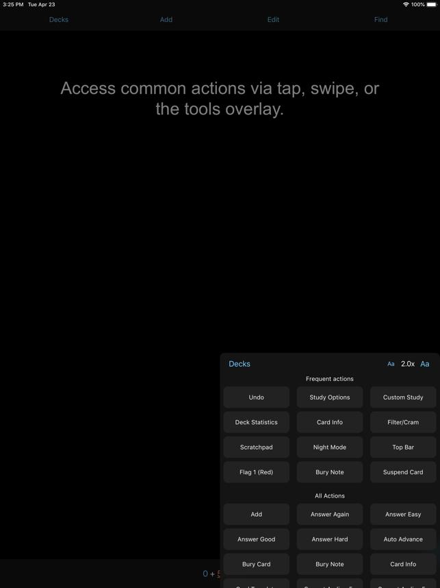 AnkiMobile Flashcards Screenshot