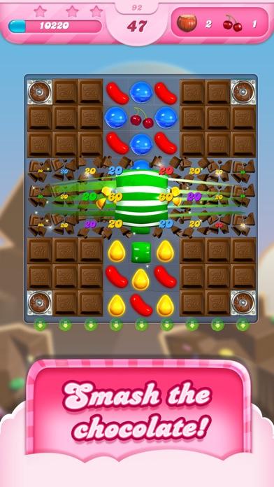 Candy Crush Saga Screenshot on iOS