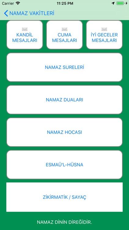 Ezan Vakti Namaz Zamanı screenshot-5