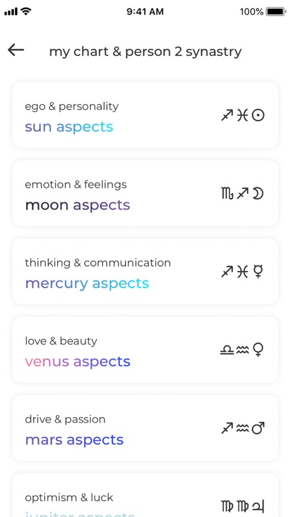 Charts Astrology screenshot-5