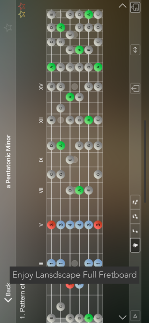 ‎Star Scales Pro For Guitar Screenshot