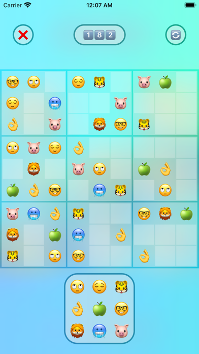 Jan's Emoji Sudoku screenshot 4