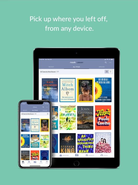 NOOK - Read Books, Magazines, Newspapers & Comics screenshot