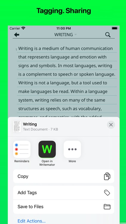 Writemator screenshot-5