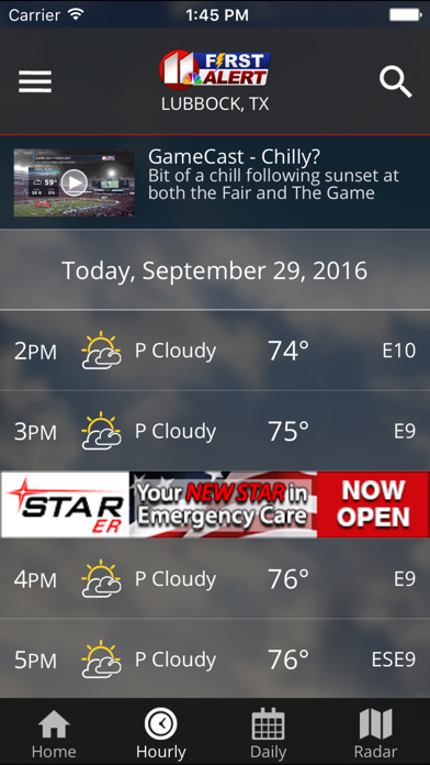 download KCBD First Alert Weather apps 1