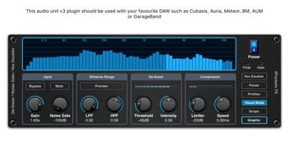 De-Esser AUv3 Audio Plugin screenshot 1