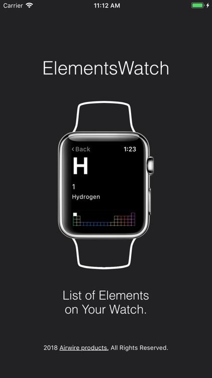 ElementsWatch