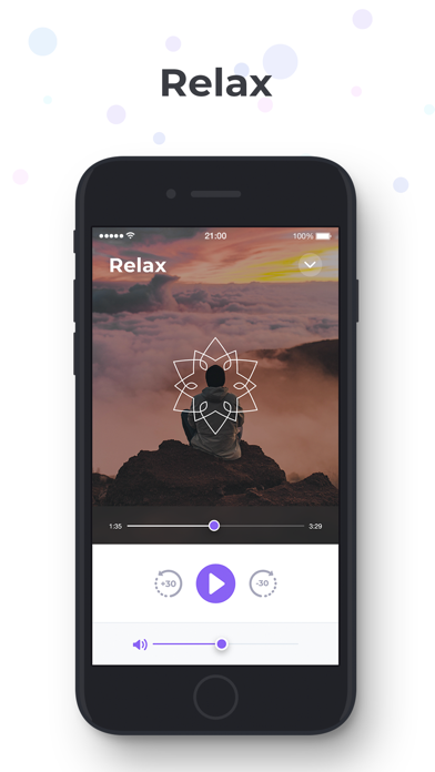 Meditation and Relaxation' Screenshot on iOS