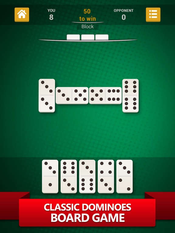 Dominoes - Best Domino Game на iPad