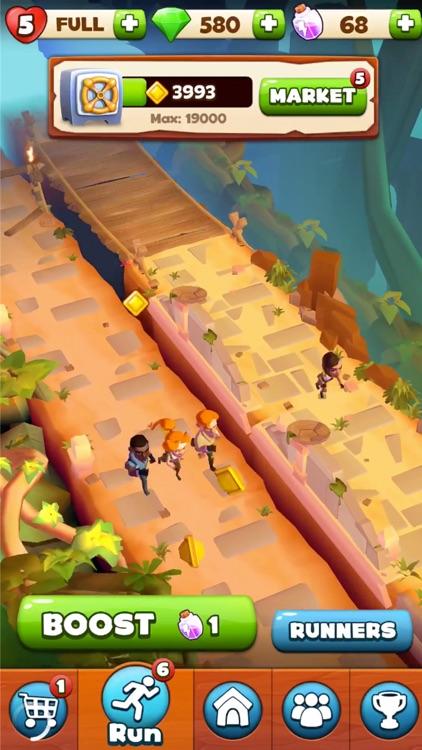 Temple Run: Treasure Hunters screenshot-3