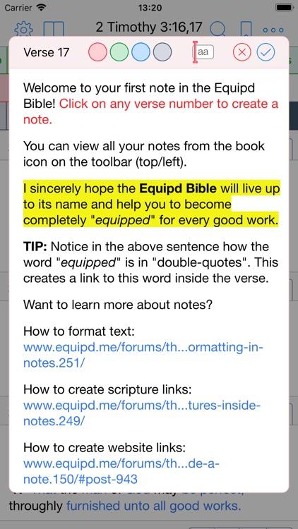 Equipd Bible screenshot-6
