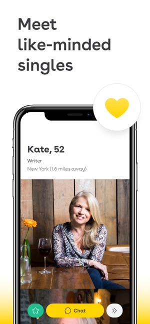 Dating-App über 50