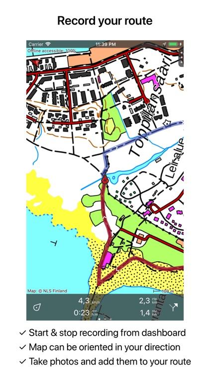 Topo GPS Finland screenshot-3