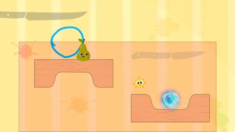 Fruit Escape: Draw Line screenshot-3