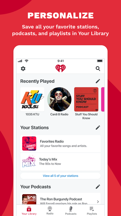iHeart: Radio, Music, Podcasts wiki review and how to guide