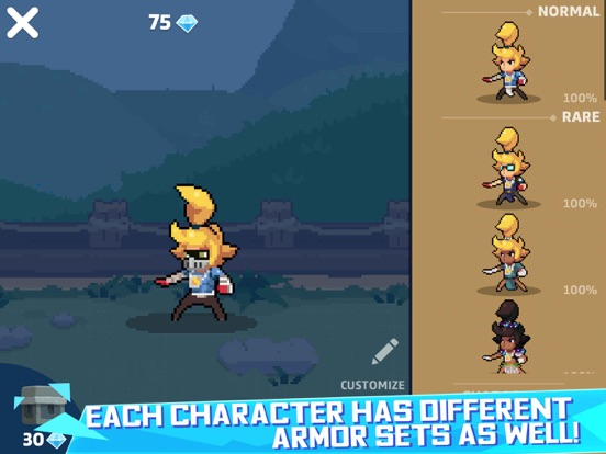 Hair Dash-Hero Battle screenshot 12