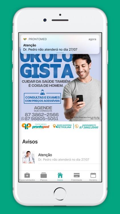 Prontomed app