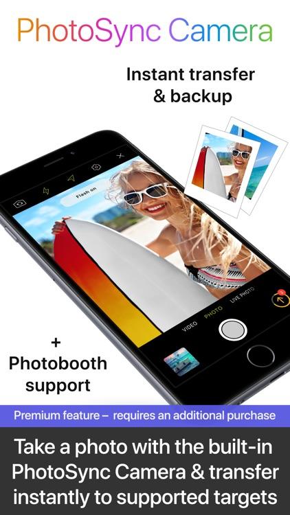 PhotoSync – transfer photos screenshot-7