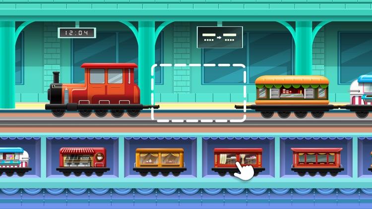 Train Builder - Games for kids screenshot-0