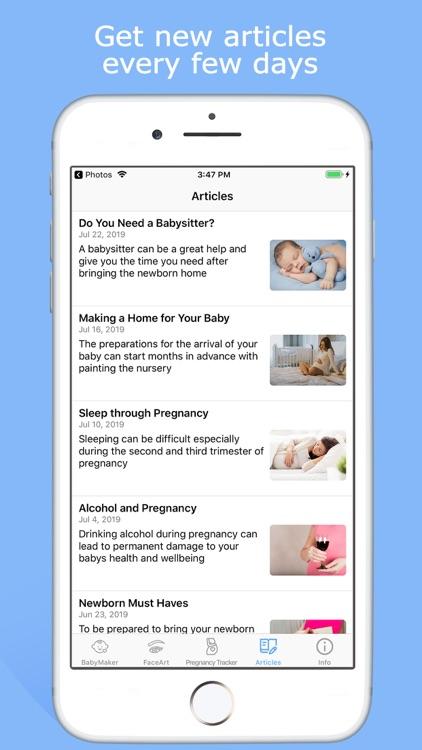 BabyMaker & Pregnancy Tracker screenshot-3