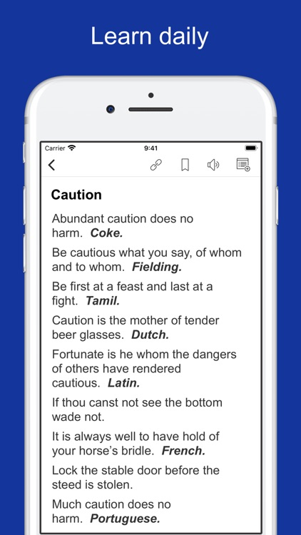 Proverbs, Maxims and Phrases screenshot-5