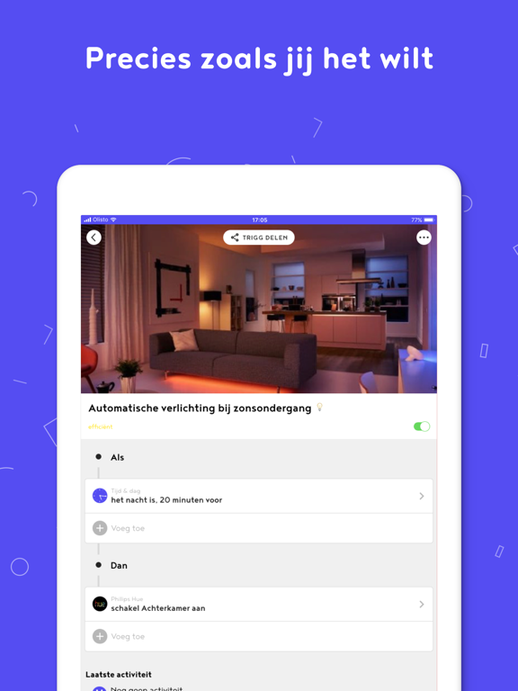 Olisto iPad app afbeelding 4