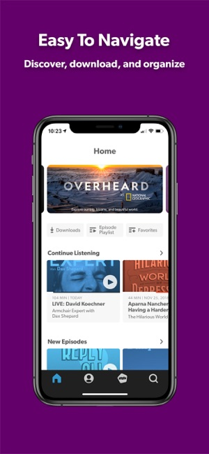 Stitcher for Podcasts on the App Store
