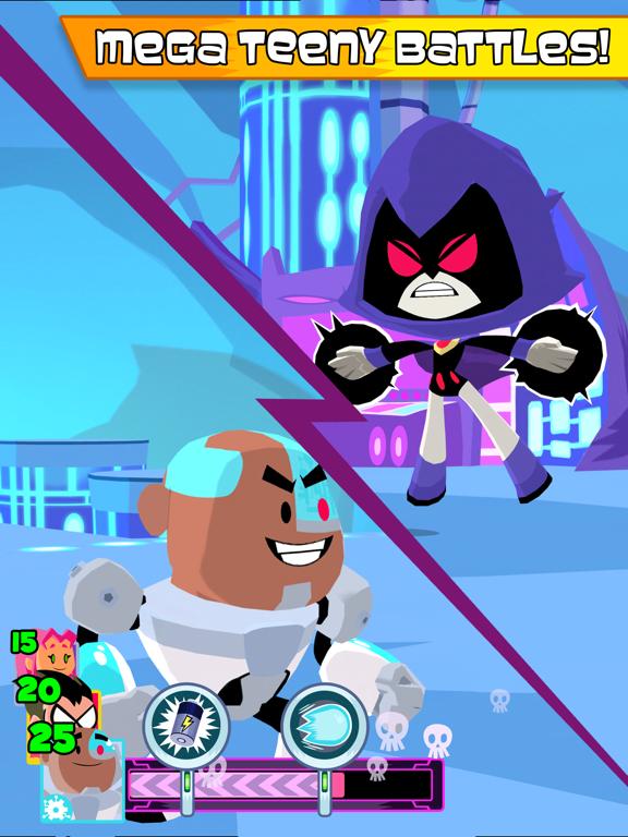 Teeny Titans tablet App screenshot 2