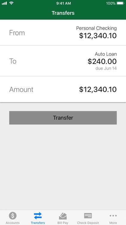 Noble CU Mobile Banking screenshot-3
