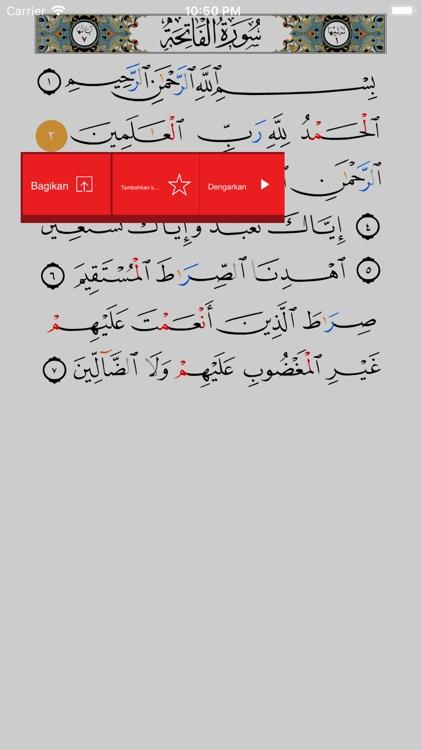 Learn Arabic- Juz' Amma Indo screenshot-8