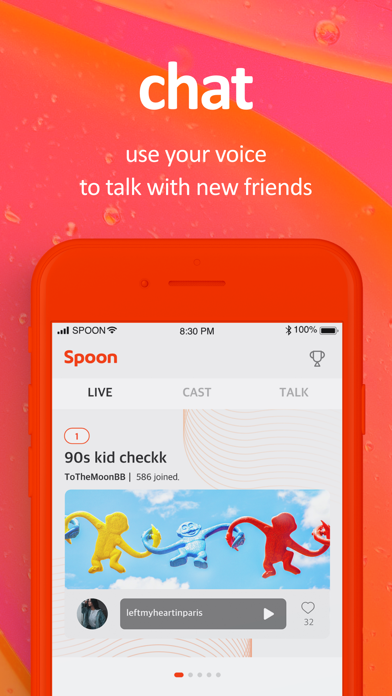Spoon: Live Stream, Voice Chat Screenshot