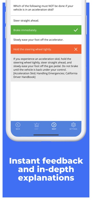 DMV Genie Permit Practice Test on the App Store