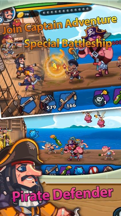 Pirate Defender: TD Shooting