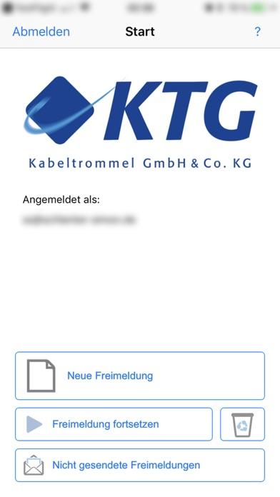 Bayka-KTG-Freimeldung screenshot two