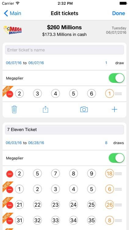 LottoMonkey: Scan Lottery screenshot-3