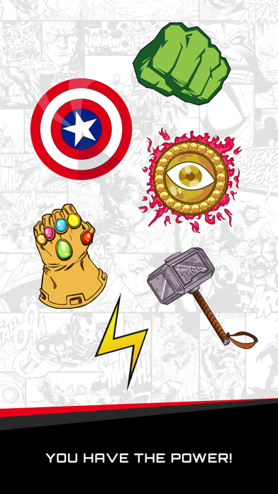 Items of Power Stickers